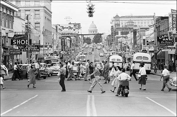 Downtown Little Rock Arkansas 1958 Photo Print for Sale