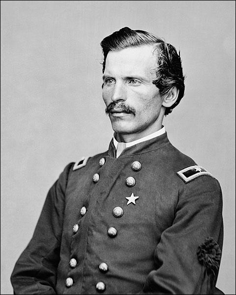 Civil War Union Army Colonel Henry A. Barnum Portrait Photo Print for Sale