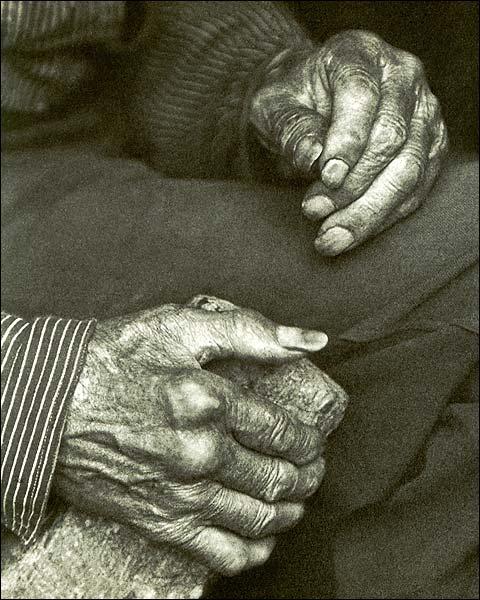 Appalachian Laborer Hands, Doris Ulmann Photo Print for Sale
