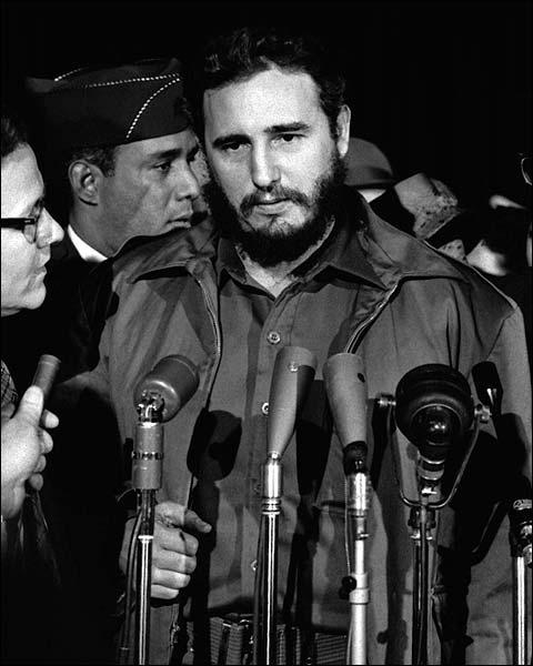 Fidel Castro 1959 Portrait Photo Print for Sale