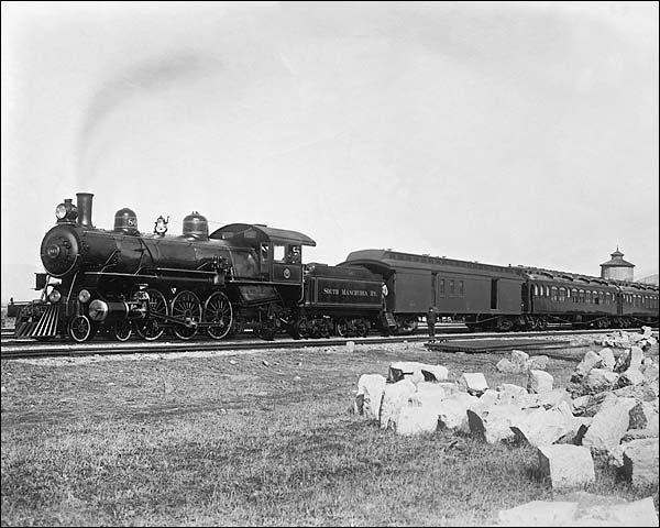 Express Train, South Manchurian Railroad Photo Print for Sale