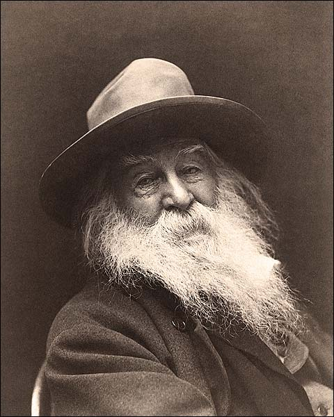 Writer Poet Walt Whitman Portrait 1887 Photo Print for Sale