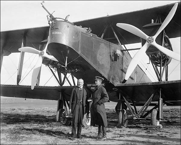 Handley Page O/100 WWI Bomber Biplane Photo Print for Sale