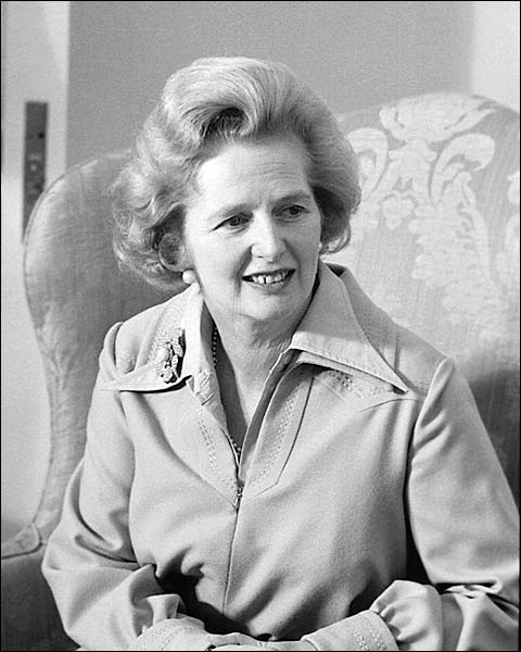 Prime Minister of England Margaret Thatcher Photo Print for Sale