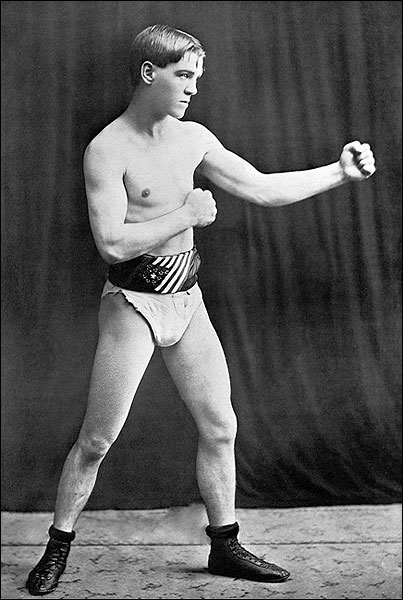 Bantam Boxer Terry McGovern Portrait 1898 Photo Print for Sale