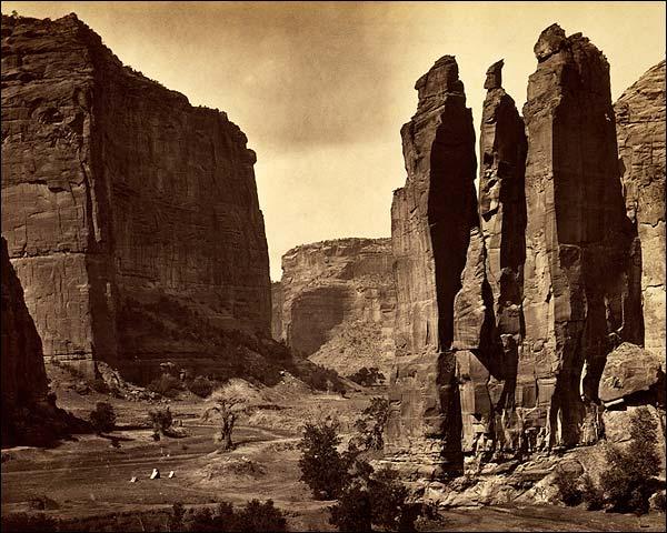 Canyon de Chelle NM Timothy O'Sullivan 1872 Photo Print for Sale