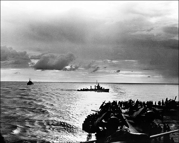 U.S. Destroyer in North Africa WWII 1942 Photo Print for Sale