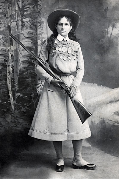 Wild West Performer Annie Oakley Photo Print for Sale