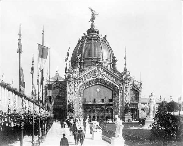 Central Dome Paris Exposition 1889 Photo Print for Sale