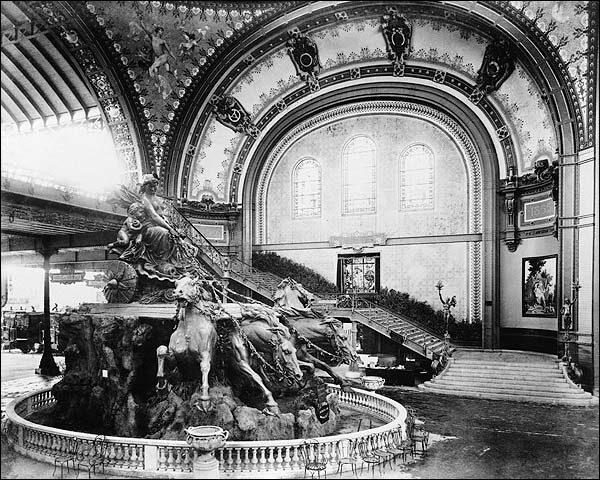 Fountain Bartholdi 1889 Paris Exposition Photo Print for Sale