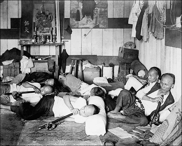 Opium Drug Den Philippines 1924 Photo Print for Sale