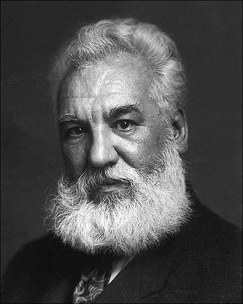 Alexander Graham Bell Portrait Photo Print for Sale