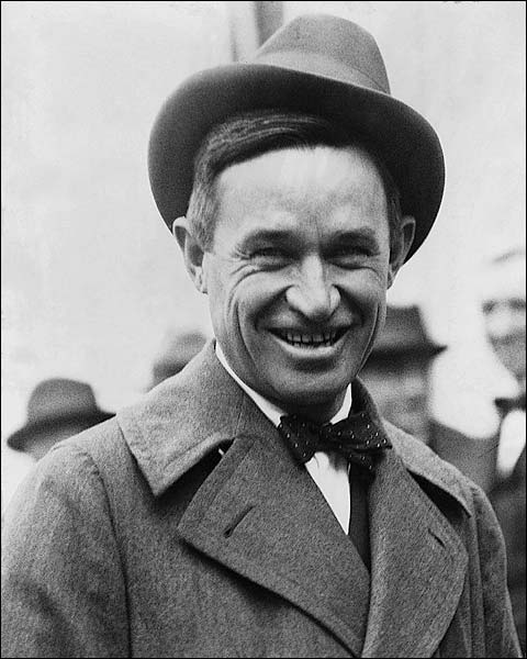 Cowboy Performer & Humorist Will Rogers Photo Print for Sale
