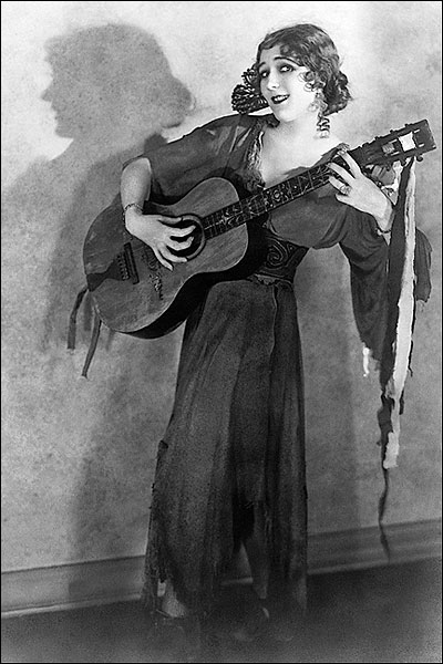 Mary Pickford Playing Guitar in 'Rosita' 1923 Photo Print for Sale