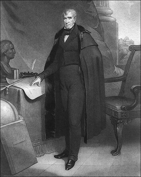 U.S. President William Henry Harrison Portrait Photo Print for Sale