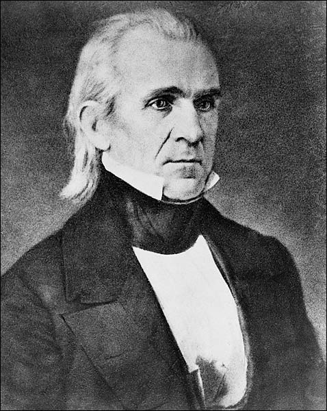 U.S. President James K. Polk Portrait Photo Print for Sale