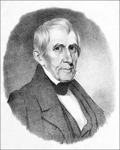 U.S. President William H. Harrison Portrait Photo Print for Sale
