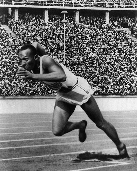 Jesse Owens 1936 Berlin Olympics Photo Print for Sale