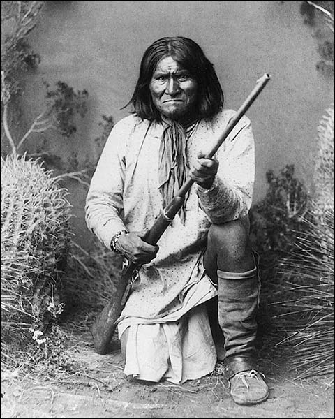 Native American Indian Geronimo Portrait Photo Print for Sale
