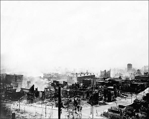 1906 San Francisco Earthquake Ruins Photo Print for Sale