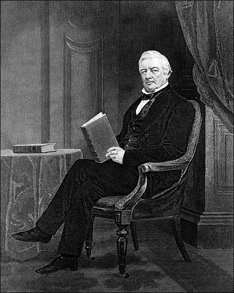 President Millard Fillmore Engraving 1862 Photo Print for Sale