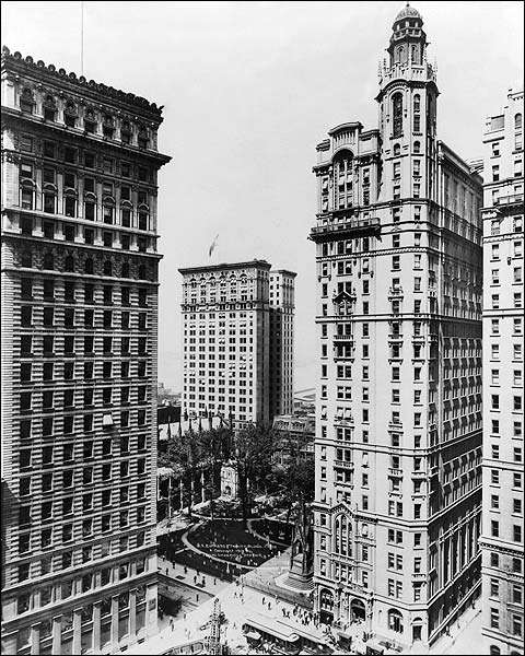 Trinity and U.S. Realty Building NYC 1913 Photo Print for Sale