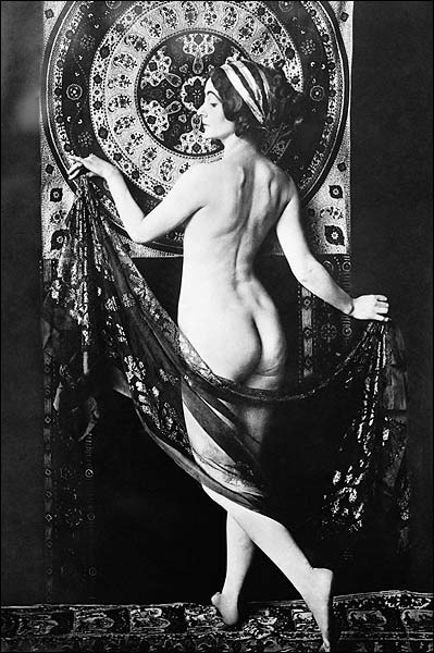 Nude French Dancer Adorée Villany Photo Print for Sale