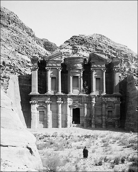 Temple of Ed-Deir Petra Jordan 1900s Photo Print for Sale