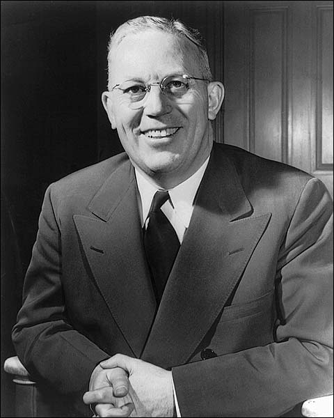 Earl Warren Governor of California Portrait Photo Print for Sale
