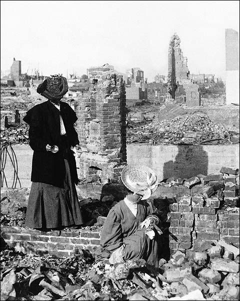 San Francisco Earthquake Survivors 1906 Photo Print for Sale