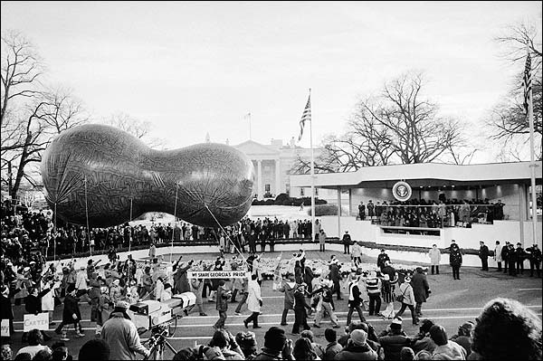 Jimmy Carter Inauguration Peanut Parade Photo Print for Sale