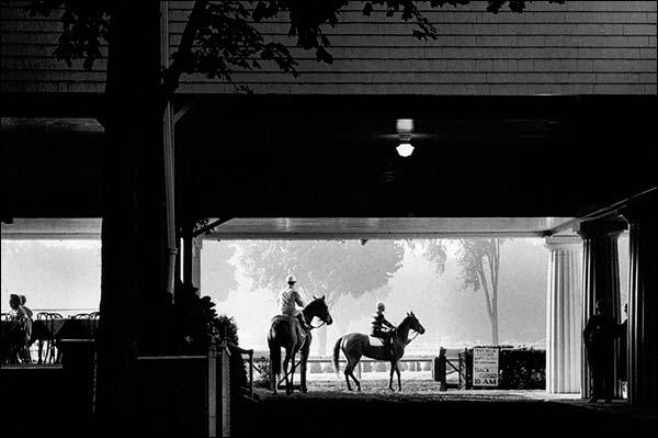 Oklahoma Horse Race Track Saratoga, NY 1963 Photo Print for Sale