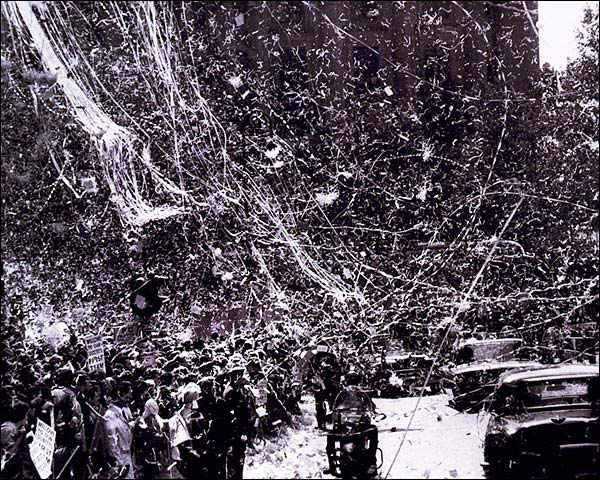 Richard Nixon NYC Ticker Tape Parade 1960 Photo Print for Sale