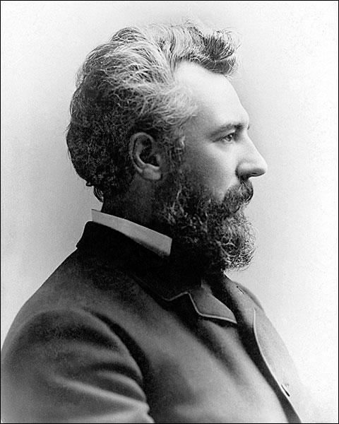 Inventor Alexander Graham Bell Portrait Photo Print for Sale