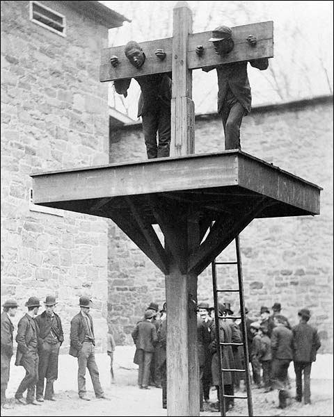African American Slaves Whipping Post 1889 Photo Print for Sale