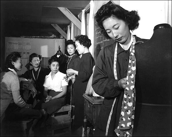 Manzanar War Relocation Center Ansel Adams Photo Print for Sale