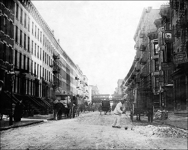 New York City Harlem 107 St / 3rd Ave 1912 Photo Print for Sale
