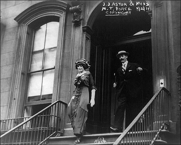 John Jacob Astor & Madeleine Talmadge Force Photo Print for Sale