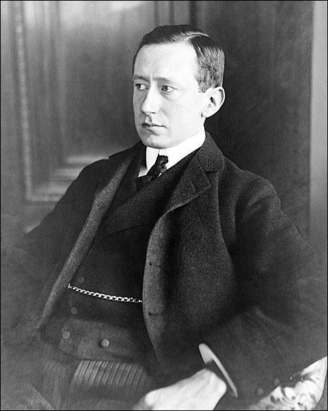 Inventor Guglielmo Marconi Portrait Photo Print for Sale