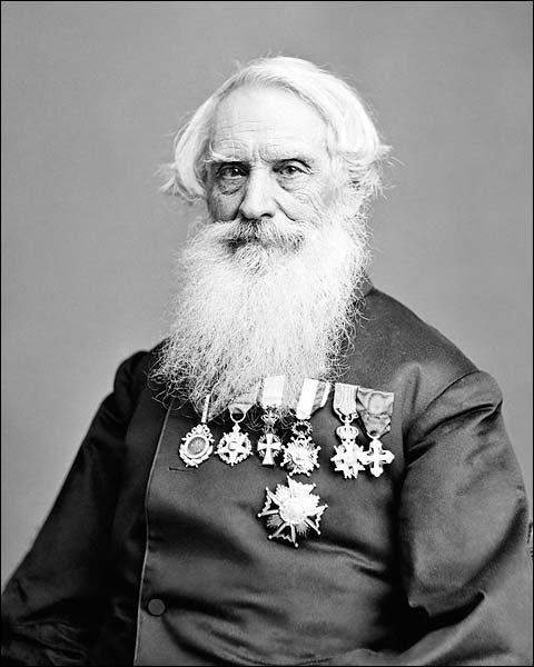 Inventor Samuel F. B. Morse Portrait Photo Print for Sale
