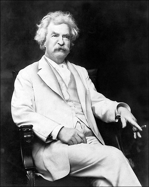 Writer Mark Twain Portrait 1907 Photo Print for Sale