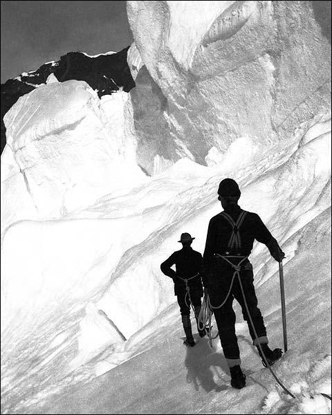 Mt. McKinley Denali Alaska Early 1900s Photo Print for Sale