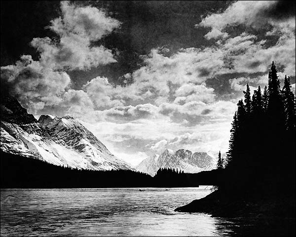 Denali Mountains Alaska 1920 Photo Print for Sale