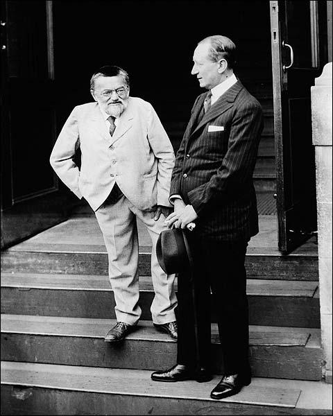 C.P. Steinmetz & Inventor Guglielmo Marconi Photo Print for Sale