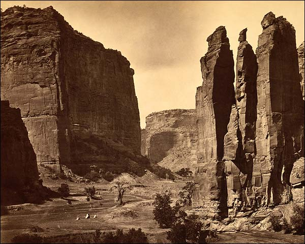 Cañon de Chelle in Grand Canyon 1873 Photo Print for Sale