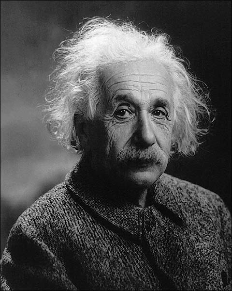 Albert Einstein Portrait 1947 Photo Print for Sale