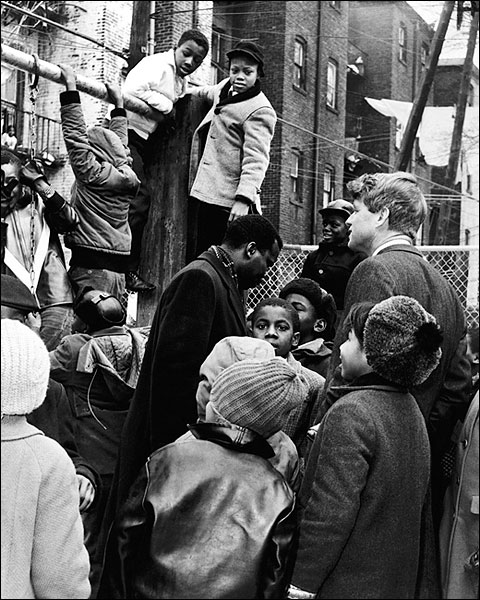 Robert Kennedy Bedford-Stuyvesant Brooklyn Photo Print for Sale