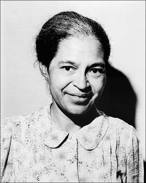 Civil Rights Leader Rosa Parks 1964 Photo Print for Sale