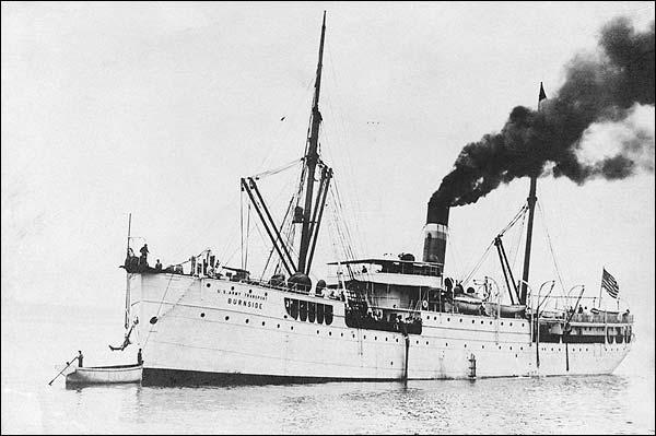 US Army Transport Warship, Burnside Alaska Photo Print for Sale