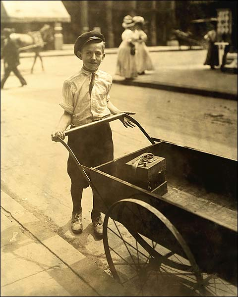 Child Labor Lewis Hine Cincinnati, Ohio Photo Print for Sale